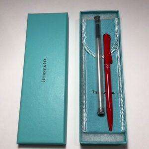 Tiffany & Co. Accessories - Tiffany & Co. Elsa Peretti Pen in Red Lacquer